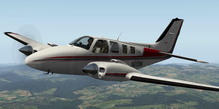 A Beech Baron preview