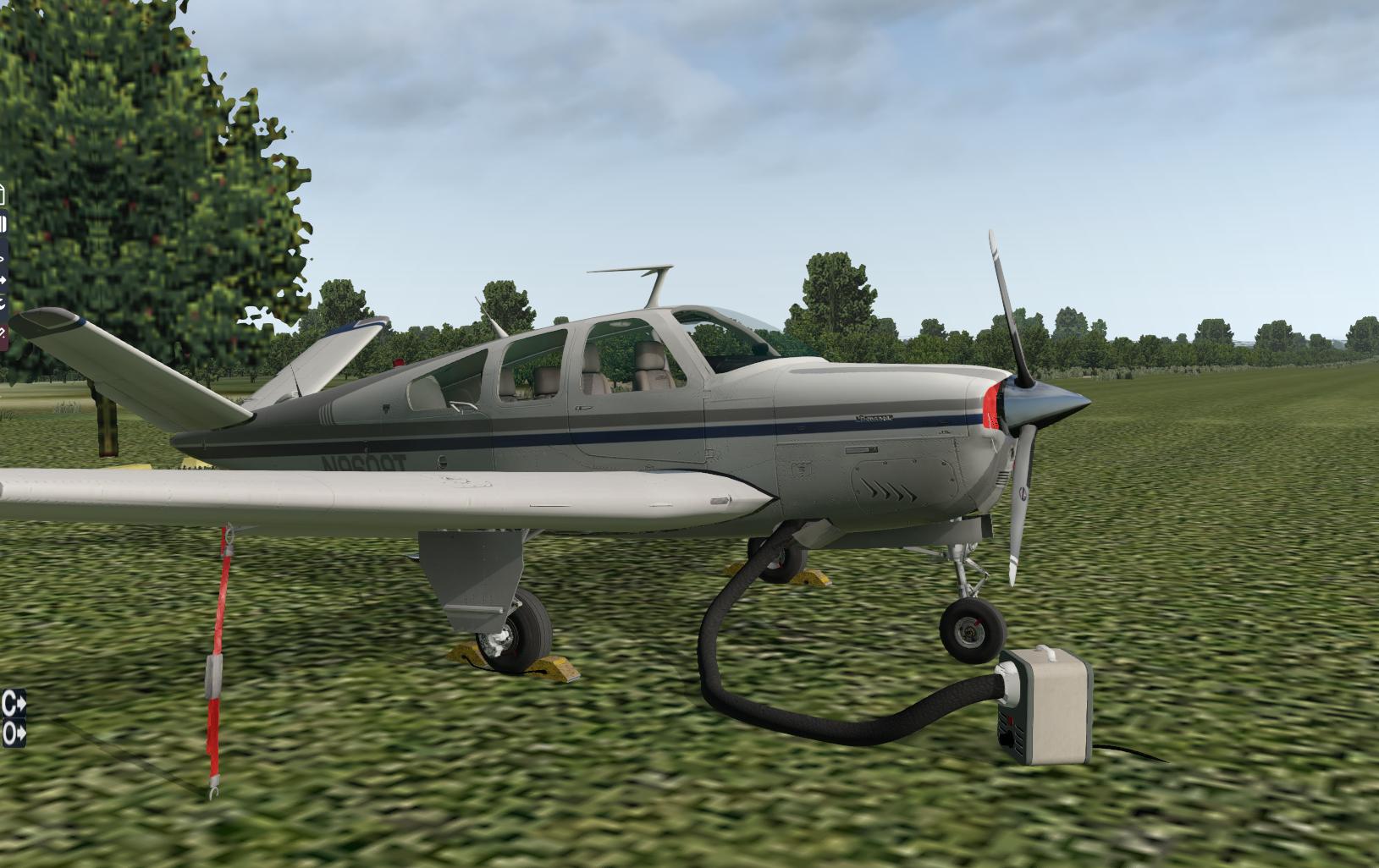 REP for Carenado's Beechcraft V35B Bonanza - SimCoders com