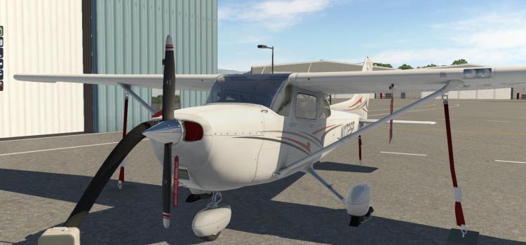 Cessna 172 + REP