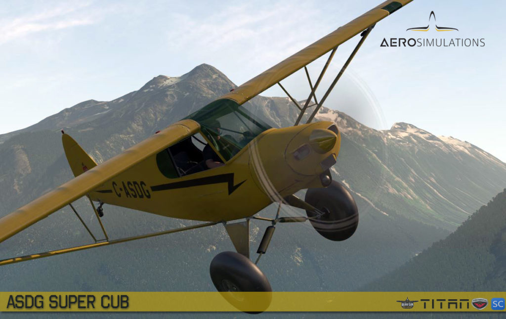 Piper Super Cub by ASD