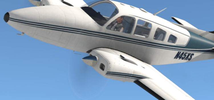Reality Expansion Pack for Laminar Baron B58