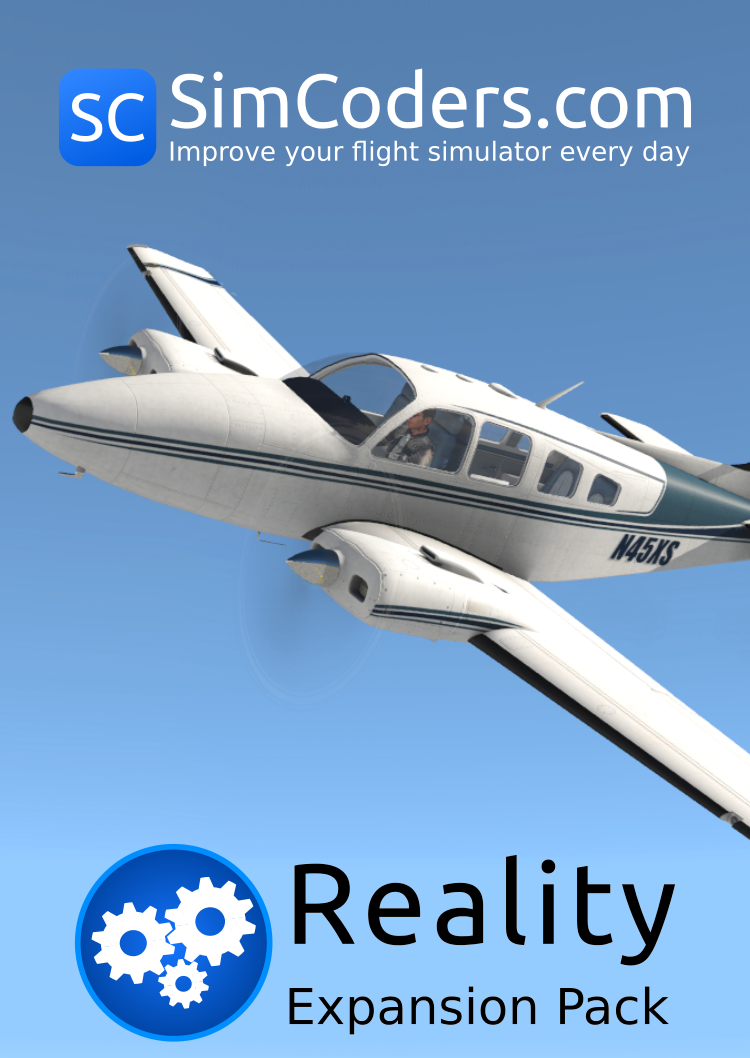 Reality Expansion Pack for Laminar Baron B58 - SimCoders com