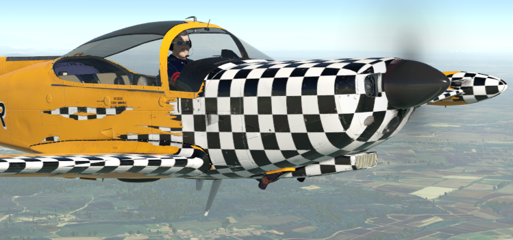 The SIAI-Marchetti SF.260D for X-Plane just landed!