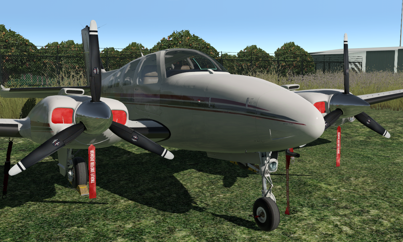 REP for Carenado's Beechcraft B58 Baron - SimCoders com