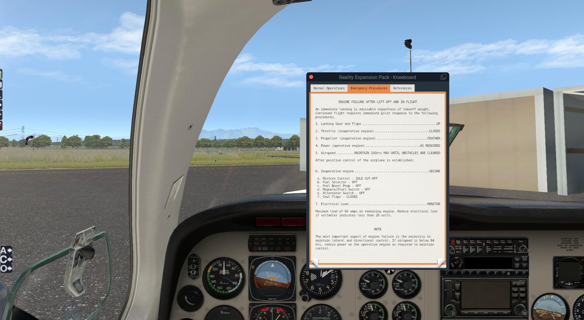 REP for Carenado's Beechcraft B58 Baron - SimCoders com
