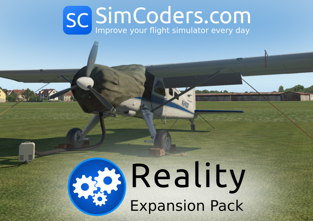Reality Expansion Pack DHC-2 Logo